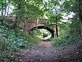 Railway Bridge, Belvoir Road, near Denton - geograph.org.uk - 1464830.jpg