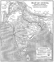 Railway Map Of India Pdf.History Of Rail Transport In India Wikipedia