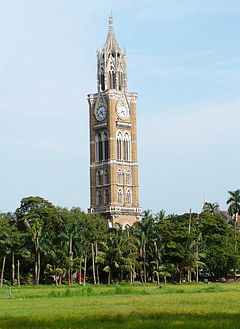 Rajabai Clock Tower, Mumbai (31 August 2008).jpg