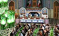 Ramadan 1439 AH, Qur'an reading at Musalla of Shah Abdul Azim Mosque - 25 May 2018 04.jpg