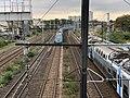 Rame TGV Ouigo Ligne PLM Paris Lyon vue depuis Pont Avenue République - Maisons-Alfort (FR94) - 2020-10-16 - 1.jpg