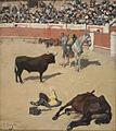 Ramon Casas- MNAC- Toros (Cavalls morts) o A l'estiu, tota cuca viu.jpg