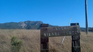 Rancho Sierra Vista - View of Rancho Sierra Vista with Boney Mountain in the background