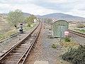 Rannoch railway station, view north, West Highland Line, Scotland.jpg