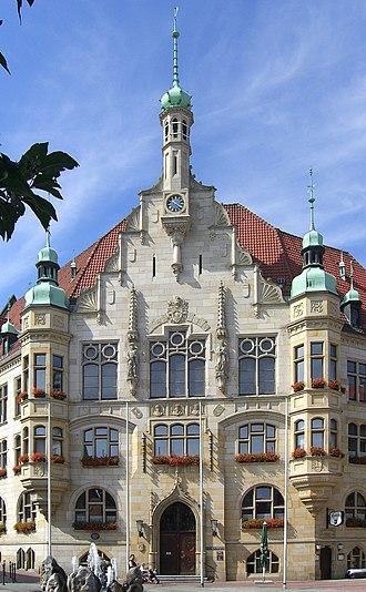 Helmstedt - Image: Rathaus Helmstedt