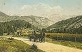 Razglednica ceste k jezeru 1915.jpg