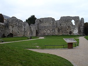 Leominster Abbey - Ruins of Reading Abbey, which founded a priory at Leominster in the 12th century.