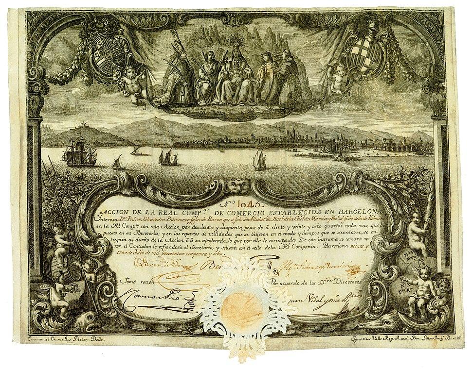 Real Compañía de Comercio 1758