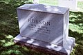 Rear view - Richmond Pearson Hobson grave - Arlington National Cemetery.JPG