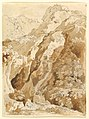 Reclining Man in a Mountainous Landscape with Waterfalls MET DP821573.jpg
