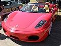 Red Ferrari F430 Spider front.JPG