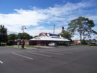 Red Rooster - Red Rooster at Waratah Village Shopping Centre in Newcastle.