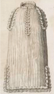 <i>Colobium sindonis</i> garment worn by British monarchs during part of the coronation service