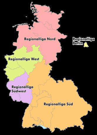 Regionalliga - Image: Regionalliga 1963 1974