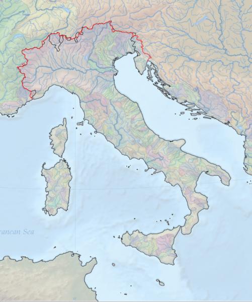Cartina Fisica Italia Golfi.Italia Regione Geografica Wikiwand