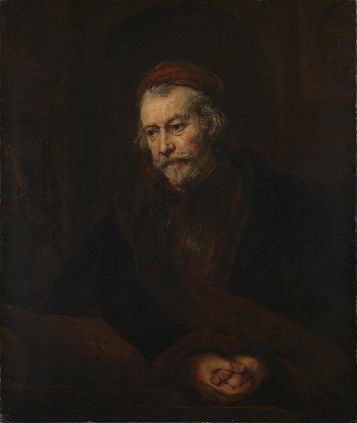 File:Rembrandt, The Apostle Paul, 1659, The National Gallery, London.jpg