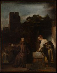Rembrandt - Christ and the woman from Samaria.jpg