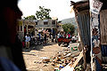 Residents in Jacmel amid earthquake damage 2010-01-17 2.jpg