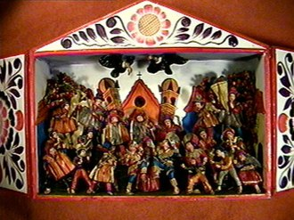 Ayacucho - A retablo piece of art from Ayacucho.