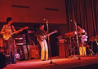 Al Di Meola - Di Meola with Return to Forever at Onondaga Community College, Syracuse, New York, 1974