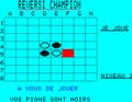 Reversi Champion - Représentation écran Oric.png