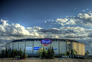 Northlands Coliseum Indoor arena in Edmonton, Alberta, Canada