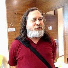 Richard M Stallman Swathanthra 2014 kerala.jpg