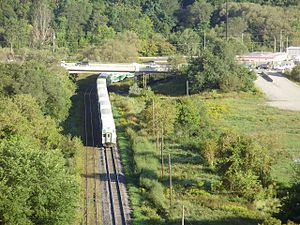 Richmond Hill GO Train from Viaduct.jpg