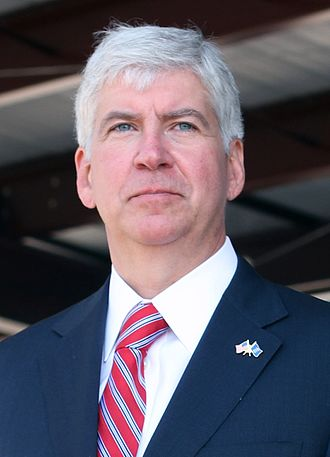 Governor of Michigan - Image: Rick Snyder in 2013