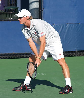 Burnie International - South African Rik de Voest was Lu's partner to the title in doubles in 2004