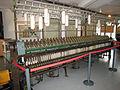 Ringspinnanlage Baumwollspinnerei.JPG