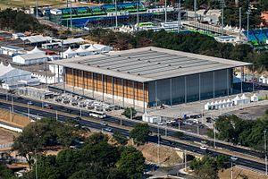 Basketball at the 2016 Summer Olympics - Image: Rio 2016 julho Zona B Deodoro 009 8214 c 2016 Gabriel Heusi Heusi Action