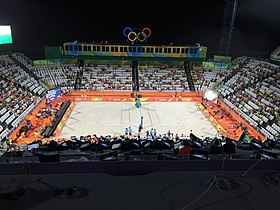 Rio 2016 - Olympic Games- 7 August Beach Volleyball (BV002) (28533648044).jpg