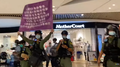 Riot police raise Purple flag in YOHO Mall 20200921.png