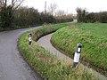 Road and rhyne - geograph.org.uk - 1618389.jpg