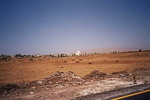 2014 Quneitra offensive - Road from Quneitra to Damascus in the offensive zone (photo taken in 2005)