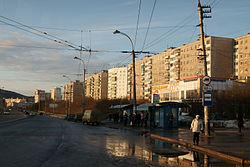 Road in Murmansk