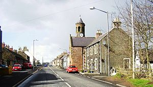 Gordon, Scottish Borders - Gordon, looking west