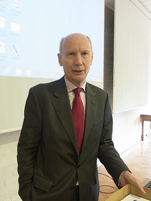 Robert Mair, Baron Mair - Robert Mair delivering a lecture in Cambridge, February 2013