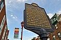 Robert Mara Adger Historical Marker 823 South St at Darien St Philadelphia PA (DSC 2928).jpg