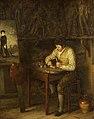 Robert Trewick Bone (1790-1840) - The Artist Grinding His Colours - 732238 - National Trust.jpg