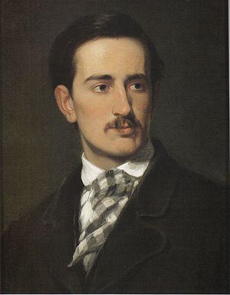 """John Ferguson Weir - Robert Walter Weir, """"Portrait of John Ferguson Weir"""", 1864-65"""