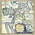 Robert de Vaugondy. Map of the Early Ages of the World. 1762.jpg