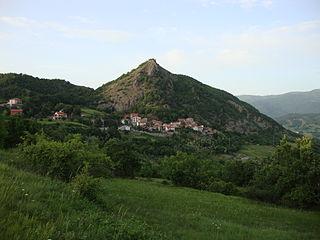 Roccaforte Ligure Comune in Piedmont, Italy