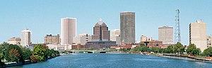 Rochester NY Skyline 2001.jpg
