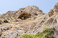 Rock formations near Exomitis - Santorini - Greece - 06.jpg