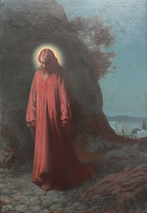 Christ on the Mount of Olives