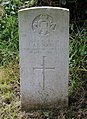 Rogers (Joseph) CWGC gravestone, Flaybrick Memorial Gardens.jpg