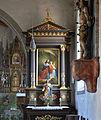 Roggenbeuren Pfarrkirche St Verena Seitenaltar rechts 01.jpg