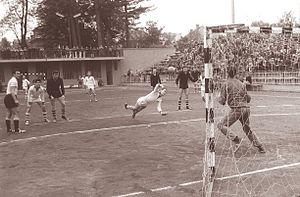 RK Maribor Branik - A match between Branik and Rudar in 1961